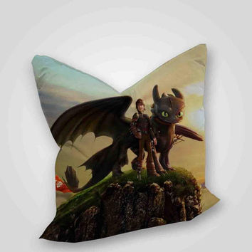 How To Train Your Dragon 2, pillow case, pillow cover, cute and awesome pillow covers