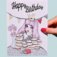 Bitchin' Birthday Greeting Card