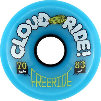 Cloud Ride! Freeride 70mm 83a Longboard Wheels
