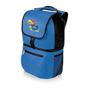 Kansas Jayhawks KU Backpack Cooler Hiking Pack