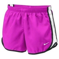 Girls Nike Tempo Running Shorts Vivid Pink/White/Black at Sport Seasons