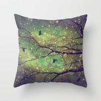 Where Dusk Meets Dawn Throw Pillow by Soaring Anchor Designs | Society6