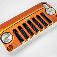 Jeep Wrangler orange - iPhone Case,Samsung Case,iPod Case.The Best Case.