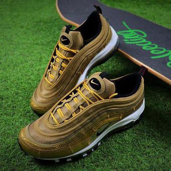 DCCKGV7 Best Online Sale Nike Air Max 97 CR7 Cristiano Ronaldo Patch AQ0655-700 Men's Running Shoes Trainers