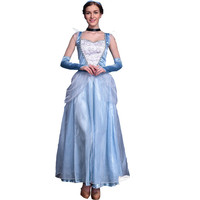 Halloween Costume Blue Princess Prom Dress [9220659524]
