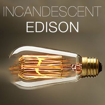 Incandescent Edison Antique Replica Filament Bulb