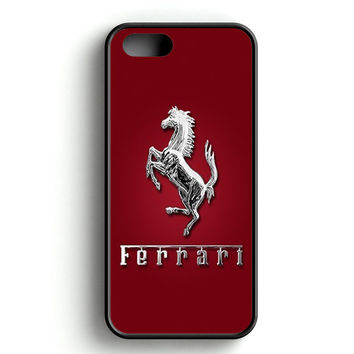 Ferrari Logo Red iPhone 5 | 5S Case