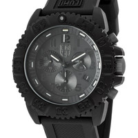 LUMINOX Men's Black Chronograph Watch, 44mm - Black