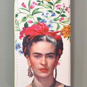 Frida Kahlo Picture Wallet