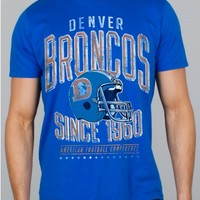 Junk Food Clothing - NFL Denver Broncos Tee - NFL - Collections - Mens