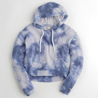 Girls Textured Boxy Hoodie | Girls New Arrivals | HollisterCo.com