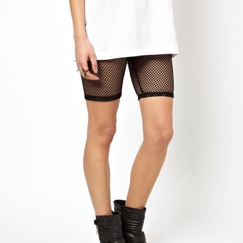 ASOS Fishnet Legging Shorts