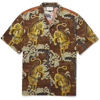 Gucci - Printed Voile Shirt | MR PORTER
