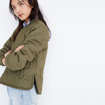 Quilted Military Jacket : | Madewell
