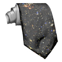 STAR CLUSTER (an outer space design) ~ Neck Ties