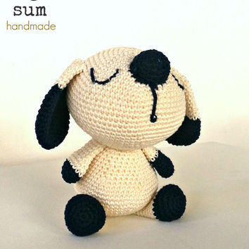 Amigurumi dog, amigurumi doll, for kids, stuffed animal, crochet toy, collection doll, soft toy