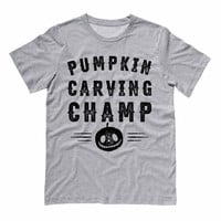 Pumpkin Carving Champ Shirt
