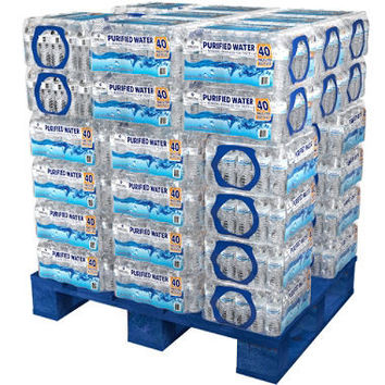 Member's Mark Purified Bottled Water (16.9 oz. bottles, 48 cases)