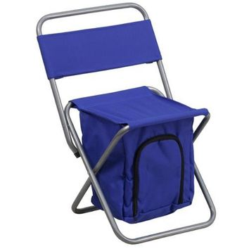Kids Folding Camping Chair with Compartment