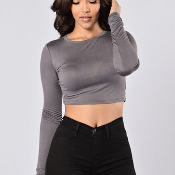 Keep It Cool Top - Charcoal