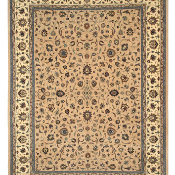 Hand-knotted Wool Camel Traditional Oriental Pak-Persian Rug