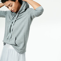 Solid Popover Hoodie