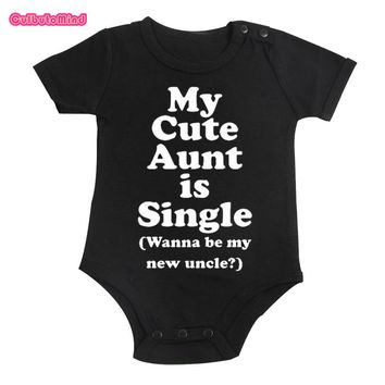 One-piece black bodysuit Boys and Girls 0-12M infant baby Shower Gift