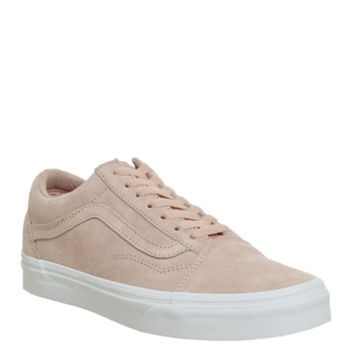 Vans Old Skool Spanish Villa Suede True White - Unisex Sports