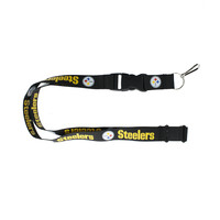 Pittsburgh Steelers Lanyard - Black