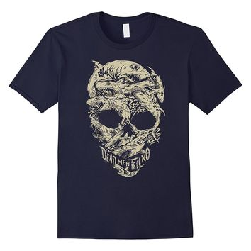 Disney Pirates Shark Skull T-Shirt