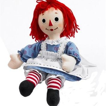 Madame Alexander Dolls Raggedy Ann Cloth Doll, 18``, Raggedy Ann and Andy Colle