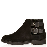 MAJESTIC Cut Out Boots - Boots - Shoes - Topshop