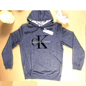 "Fashion ""Calvin Klein"" Print Shirt Top Hoodie Sweatshirt H-A-KSFZ"