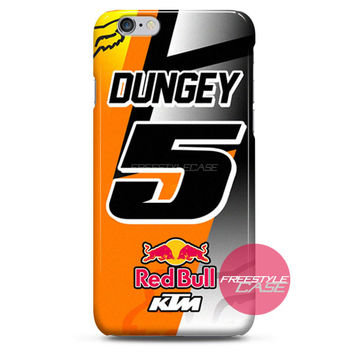 Ryan Dungey 5 KTM Motocross Fox Team iPhone Case 3, 4, 5, 6 Cover