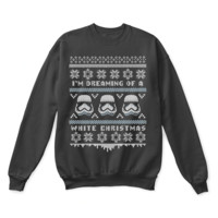ONETOW I'm Dreaming Of A White Christmas Star Wars Ugly Sweater