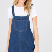 Lena Denim Pinafore