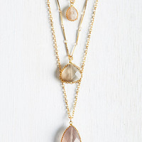 Props to Your Drops Necklace by ModCloth