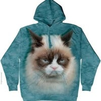 The Mountain Cotton Grumpy Cat Hoodie (Small)