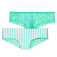 Lace Back Cheekster Panty - PINK - Victoria's Secret