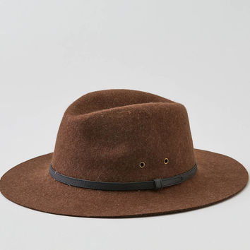 AEO Wool Fedora, Brown