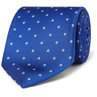 Sulka Circle-Print Silk Tie | MR PORTER
