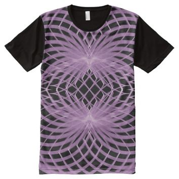 Men's American Apparel Sacred Geometry All-Over-Print Shirt