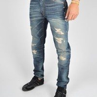 Replay Temar Rips and Tears Jeans MA910 - Blue