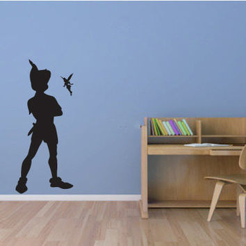 Awesome Peter Pan Wall Decal Sticker Graphic Part 25