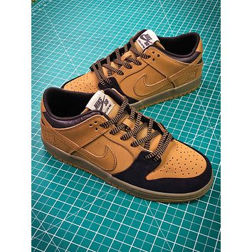 Nike Sb Dunk Mid Wheat Lewis Marnell | Aj1445-200 Sport Shoes