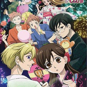 Ouran Hs Host Club - Fireworks Wall Scroll