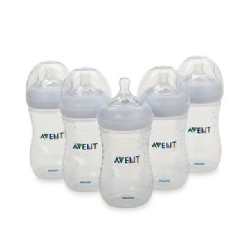 AVENT Natural 9-Ounce Bottle (5-Pack)