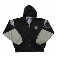 Vintage 90s Raiders Starter Jacket Mens Size Medium