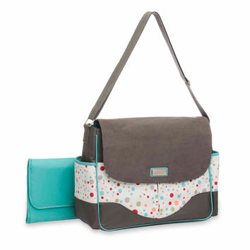 Walmart: Graco Tinker Messenger Diaper Bag, Gray
