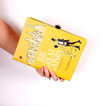 Book Clutch Purse- The Great Gatsby